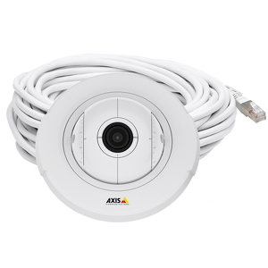 AXIS F4005 Dome Sensor Unit Recessed dome for discreet indoor surveillance