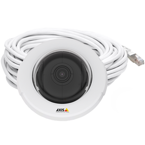 AXIS F4005-E Dome Sensor Unit Recessed dome for discreet surveillance indoors, outdoors and in vehicles